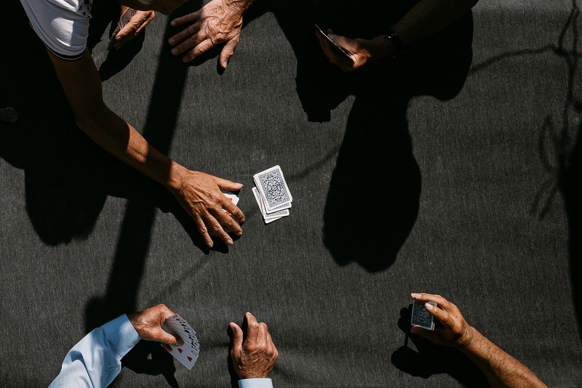kartenspiel bild - smartphone fotografie